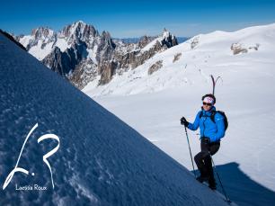 Laetita Roux ski rando