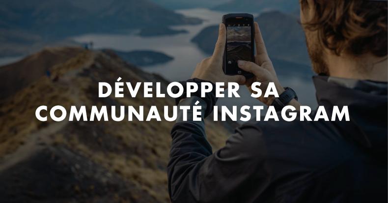 Formation développer sa communauté Instagram